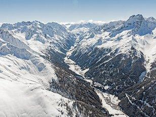 Pitztal Bergpanorama