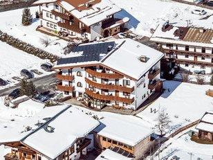Winter Luftaufnahme